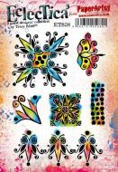 Tracy Scott (ETS38) PaperArtsy A5 cling rubber stamp set