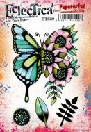 Tracy Scott ETS39 Paperartsy a5 cling rubber stamp set