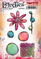 E Tracy Scott Paperartsy A5 Cling Rubber Stamp Set (ETS42)