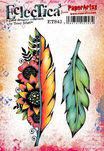 E Tracy Scott Paperartsy A5 Cling Rubber Stamp Set (ETS43)