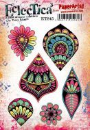 E Tracy Scott Paperartsy A5 Cling Rubber Stamp Set (ETS45)