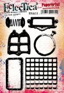 Seth Apter 11 Eclectica stamp set for PaperArtsy