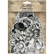 Engraving Layers Die-Cuts 76 Pack Tim Holtz Idea-Ology (TH94125)