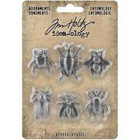 Entomology Idea-Ology Metal Adornments 6/Pkg (TH94079)