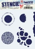 France Papillon PS227 Paperartsy Regular Stencil