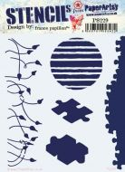 France Papillon PS229 Paperartsy Regular Stencil