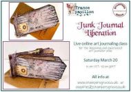 France Papillon Online Class - Junk Journal Liberation - 20th March 10am UK Time