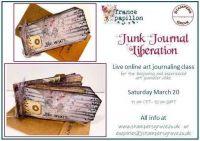 France Papillon Online Class - Junk Journal Liberation - 20th March 10am UK Time