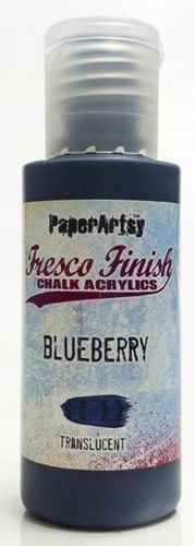 Blueberry (New Formula) Paperartsy Fresco Finish Paint (Family 6)