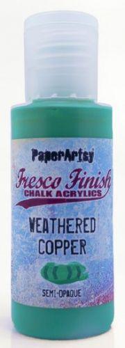 Weathered Copper (Tracy Scott) Fresco Finish PaperArtsy Paint