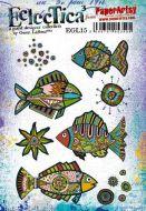 E Gwen Lafleur Paperartsy A5 Cling Rubber Stamp Set (EGL15)