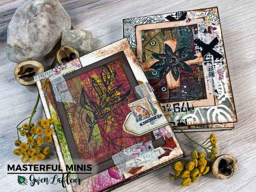 Masterful Minis - online Class with Gwen Lafleur and Stampers Grove 27 March 2021