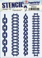 PS243 PaperArtsy Regular Stencil