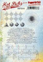 PaperArtsy Hot Picks 2103 Cling stamp set (A5 size) HP2103EZ