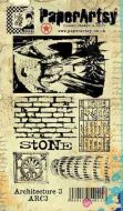 Architecture Plate 3 Ink and the Dog PaperArtsy A6 Cling Rubber Stamp (ARC3EZ)