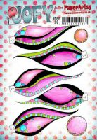Jo Firth Young (JOFY90) PaperArtsy A5 cling rubber stamp set