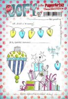 Jo Firth Young 02 (JOFY02) PaperArtsy A5 sized Cling Rubber Stamp Set