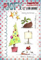 Jo Firth Young 18 (JOFY18) PaperArtsy A5 sized Cling Rubber Stamp Set