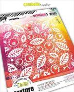 Doodle leaf by Kate Crane Art Printing Square for Carabelle Studio (APCA60027)