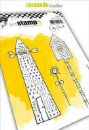 Home Sweet Home by Kate Crane  Cling Stamp A6 for Carabelle Studio (SA60398)