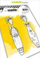 Lolly Dolly by Kate Crane  Cling Stamp A6 for Carabelle Studio (SA60397)