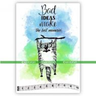 Big Cats 08 Horace (SOLO079) Single Unmounted Rubber Stamp by Katzelcraft