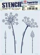 Despatch from 12 May - PaperArtsy Kay Carley Stencil 060 {EKC} PS060