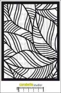 Carabelle Studio - Stencil A6 - Leaf Architecture (TE60030)