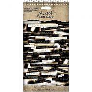 Metallic Spiral Bound Sticker Book Tim Holtz Idealogy (TH94134)