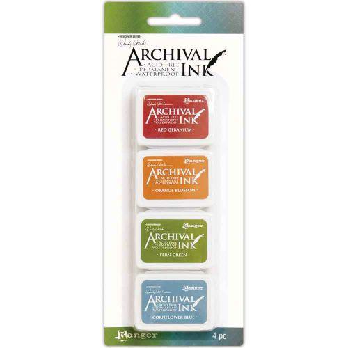 Wendy Vecchi Mini Archival Ink Pads - Kit 4 (AMD58960)