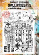 No. 161 Lady Bug Aall and Create Stamp Set (A4)
