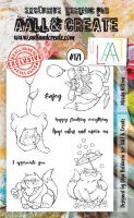 No. 171 Moody Kittens Aall and Create Stamp Set (A6)