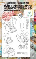 No. 172 Nutty Squirrels Aall and Create Stamp Set (A6)