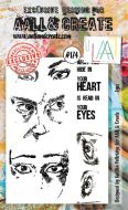 No. 174 Eyes Aall and Create Stamp Set (A6)