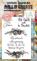 No. 182 Bouquet Quote Set Aall and Create Stamp Set (A6)