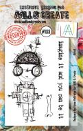 No. 188 Robot Aall and Create Stamp Set (A7)