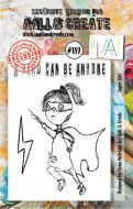 No. 189 Super Girl Aall and Create Stamp Set (A7)