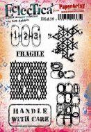 Seth Apter ESA19 PaperArtsy a5 cling rubber stamp set