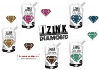IZink Diamond Set of 5 Seth Apter (Golden Bronze, Roze Eggplant, Black Coffee, Azure Blue, Beautiful Blue)