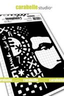 Carabelle Studio - Stencil A6 - Sir by Alexi (TE60086)