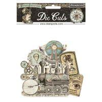 Die Cuts Assorted - Voyages Fantastiques  (UK ONLY) (DFLDC32) by Stamperia
