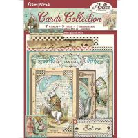 Cards Collection - Alice in Wonderland (SBCARD01) by Stamperia