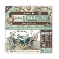 Pop up kit - Voyages Fantastiques baloon (SBPOP03) by Stamperia