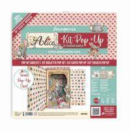 Tunnel Pop up kit - Alice wonderland (SBPOP04) by Stamperia