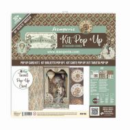 Tunnel Pop up kit - Voyages Fantastiques (SBPOP06) by Stamperia