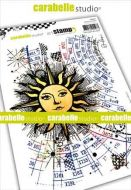 Sunlight a5 cling stamp by Carabelle Studio SA50029