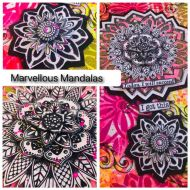 Marvellous Mandalas -Tuition Fee - (Code 'MANDALAS' is class only) Tracy Scott Online Class 10am start