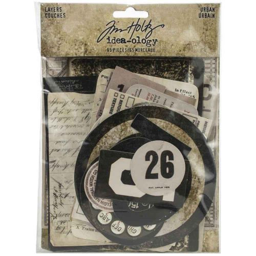 Tim Holtz Idea-Ology Urban Layers (TH94042)