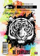 Fearless Tiger Stamp Set (VIS-FTI-01) by Visible Image
