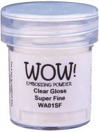 Wow! Clear Gloss Embossing Powder (15ml)  - UK ONLY